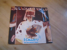 "LIL LOUIS & THE WORLD - I CALLED U...but you weren't there (FFRR  7"")"