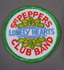 The BEATLES-Sgt PEPPERS Lonely Hearts Club Band Embroidered Iron-On Patch - 3""