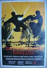 """Karate Lebanese theatrical movie poster CLOSE KUNG FU ENCOUNTER Film 21x31"""" 70s"""