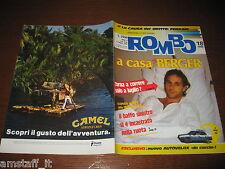 RIVISTA ROMBO 1989/18=GERHARD BERGER=L'AUTOVELOX=I QUAD=PIAGGIO GRILLO=