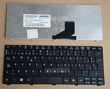 For Acer Aspire One 532h 521 522 533 D255 D255E Keyboard Spanish Teclado Black