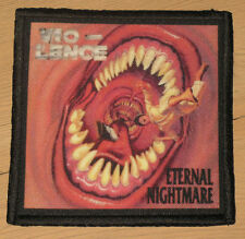 "VIO-LENCE ""ETERNAL NIGHTMARE"" silk screen PATCH"