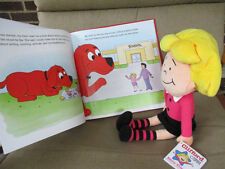 "New Kohl's/Clifford- Emily Elizabeth Doll Plush Stuffed 14"" Tall & Matching Book"
