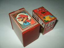 NEW Club Nintendo Mario Hanafuda Red Japanese Playing Cards Japan import