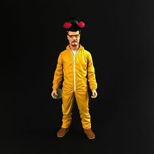 New AMC Breaking Bad Walter White Yellow Hazmat Suit 6in Action Figure by Mezco