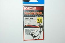 owner twistlock hook 5132-121 black chrome 2/0 centering pin spring