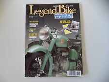 LEGEND BIKE 6/1996 BENELLI B 98/GILERA 175 BESSONE/MOTO MAXIMA/SUNBEAM S7 500