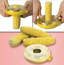 [As Seen On TV] Easy One-Step Corn Kerneler Peeler Stripper Kitchen Tool
