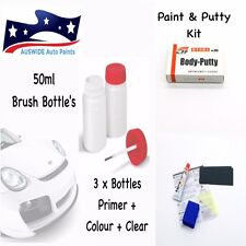 Ford TOUCH UP PAINT 50ML 3N, M6027A + CLEAR PRIMER PUTTY KIT