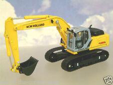 Pressofusione 1/87 / NEW HOLLAND E215B tracciate BACKHOE Escavatore / Digger da Motorart
