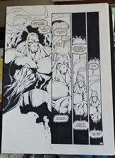 ZEN INTERGALACTIC NINJA #1 PAGE 6 1993 ORIGINAL COMIC ART-BILL MAUS-ENTITYCOMICS