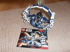 LEGO Star Wars 7661 Jedi Starfighter with Hyperdrive Booster Ring komplett