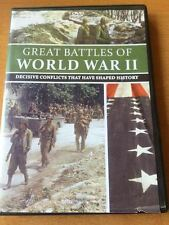 Great Battles of World War II (DVD) EXCELLENT CONDITION SHIPS NEXT DAY
