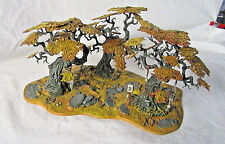 Warhammer 40k Citadel Woods Scenery Autumn. Custom Painted By Pizzazz