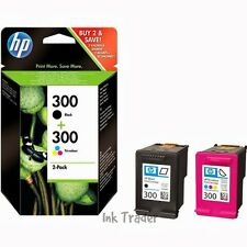 Genuine Original HP 300 Black & Colour Ink Cartridge CN637EE