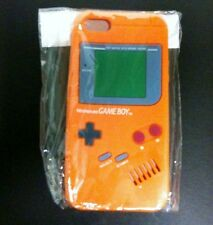 NEW Orange Silicone Game boy Original Style Case Cover for Apple iPhone 5