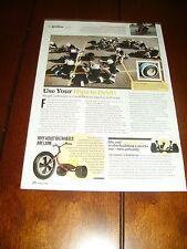 LOCAL MOTORS ELECTRIC DRIFT TRIKE  ***ORIGINAL 2014 ARTICLE***