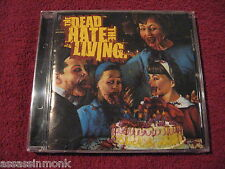 THE DEAD HATE THE LIVING Shock And Awe CD Black Dove Cobra Kai Paralyzer