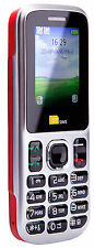 TTsims TT130 Dual 2 Sim Mobile Phone Cheap Camera Bluetooth Twin Cheapest - Red