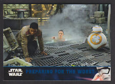 Topps Star Wars - The Force Awakens Series 2 - Blue Parallel Card # 40