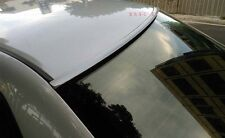 Painted For 2014 2015 2016 MITSUBISHI LANCER-Rear Window Roof Spoiler(Silver)