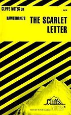 The Scarlet Letter by Cliffs Notes Staff (1960, Paperback, Revised)