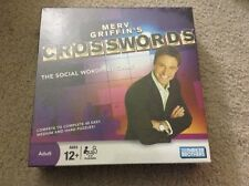 New Sealed Merv Griffin's Crosswords The Social Wordplay Game Parker Brothers