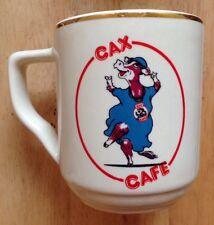 CAX CAFE RESTAURANT WARE COFFEE MUG, CHATHAM ANNEX NAVAL BASE, YORKTOWN, VA