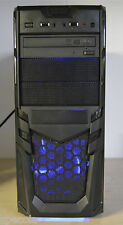 FAST GAMING PC Intel i5 Quad 8 GB DDR3 128 SSD 1TB HDD 4GB GDDR5 GTX 1050 Win7 .