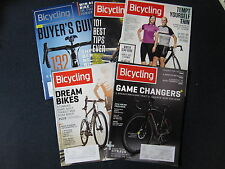 Bicycling Magazine: Misc Set of 5 -  Includes Shipping!!