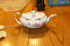 Vintage Hammersley hand painted tea pot rd no 158949