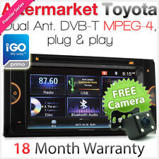 "6.75"" Car DVD Player For Toyota Hilux Land Cruiser Prado DVBT MPEG4 GPS Radio TU"