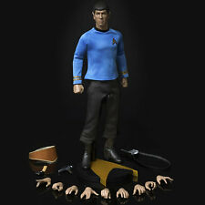 New Star Trek: TOS ~ Mr Spock 1:6 Scale Action Figure - by Quantum Mechanix