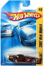 2007 Hot Wheels #25 New Models Solar Reflex