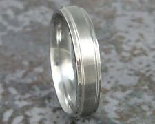 Titanium Wedding Band Mens Comfort Fit Rings Custom Made to ANY Size 3-22