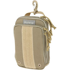 NEW Maxpedition ZIPHOOK Pocket Organizer Tactical KHAKI Color PT1537 LARGE Size