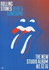 The Rolling Stones - Blue & Lonesome - A4 Photo Print