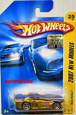 HOT WHEELS 2007 NEW MODELS SOLAR REFLEX #25/36 GOLD FACTORY SEALED