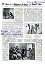 Coleur Students Germany Report 1914 fraterity student connection fencing epee -