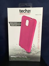 New TECH 21 IMPACT TACTICAL CASE SAMSUNG GALAXY NOTE 3 Pink D3O Impact Material