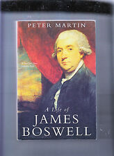 A LIFE OF JAMES BOSWELL-MARTIN 1ST YALE SFT CVR ED 2000-THICK ILLUSTRATED-NR FN