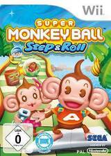 Nintendo Wii +Wii U SUPER MONKEY BALL STEP & ROLL * BRANDNEU