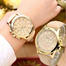 Women's Date Geneva Stainless Steel Analog Quartz Wrist Watch Female Like BEST