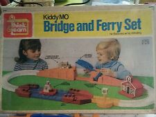 Vintage Ideal Toy Kiddy MO Bridge and Ferry Set 1974 Box Track Bus & Boat