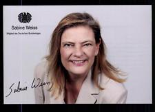 Sabine Weiss Autogrammkarte Original Signiert  ## BC 56278