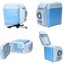 12v 7.5L Mini Fridge Compact Fridge Cooler Warmer Car Small Refrigerator(SINGLE)