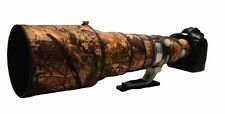 Canon 600mm f4 IS Mk2 Neoprene lens protection camo coat cover English Oak