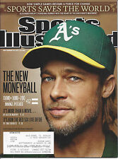 """Sports Illustrated 9/26/2011 'The New Moneyball"""" Brad Pitt- Billy Beane A's G.M"""
