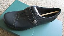 NEW CLARKS ASHLAND SWING NAVY LOAFER  SHOES WOMENS 12 SLIP ONS LOW HEEL