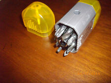 The Sharper Image SMALL YELLOW DRILL BIT SET FLAT SCREWDRIVER + PHILIPS HEAD BIT